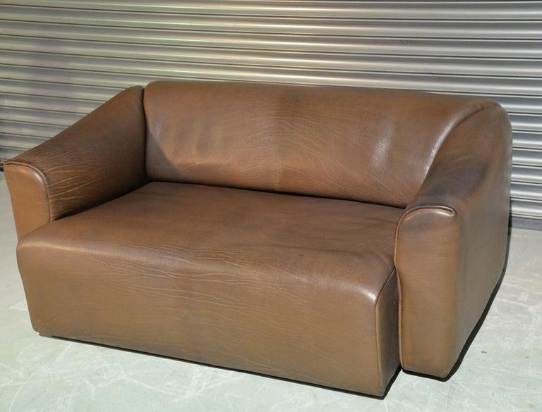 Vintage De Sede DS 47 Leather Sofa, Switzerland, 1970s For Sale 1