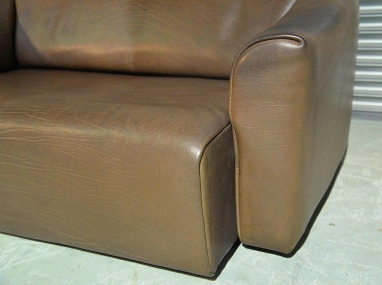 Vintage De Sede DS 47 Leather Sofa, Switzerland, 1970s For Sale 2