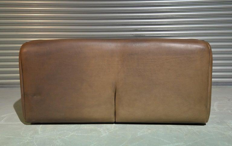 Vintage De Sede DS 47 Leather Sofa, Switzerland, 1970s For Sale 3