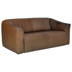 Vintage De Sede DS 47 Leather Sofa, Switzerland, 1970s