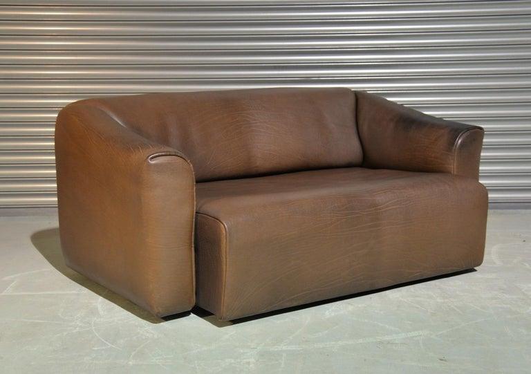 Vintage De Sede DS 47 Leather Suite, Switzerland, 1970s For Sale 5