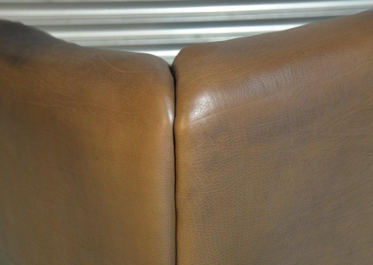 Vintage De Sede DS 47 Leather Suite, Switzerland, 1970s For Sale 9