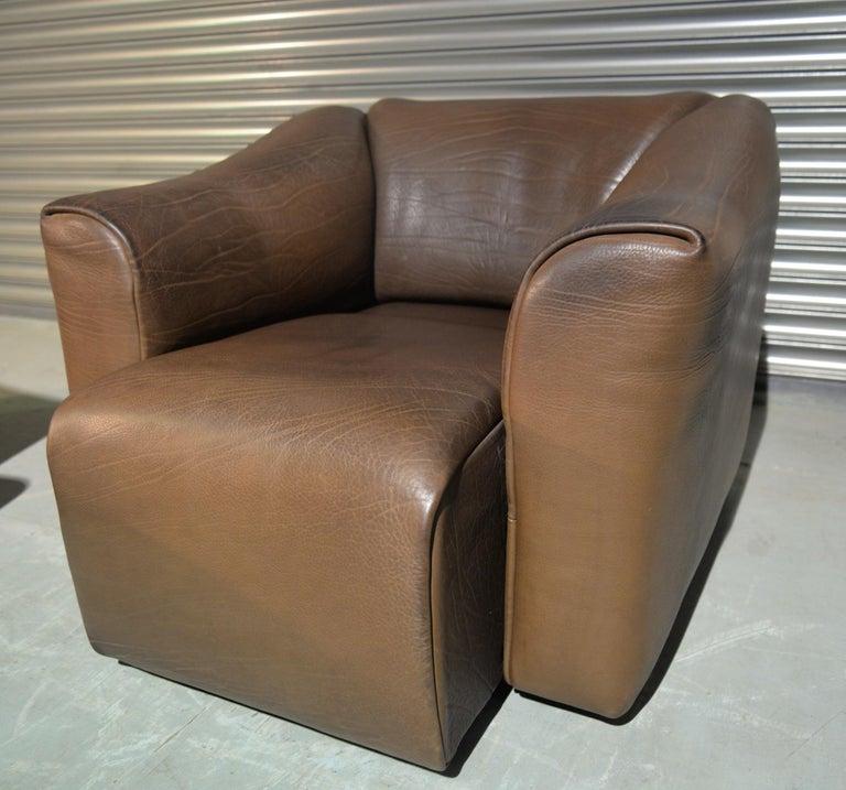 Vintage De Sede DS 47 Leather Suite, Switzerland, 1970s For Sale 13