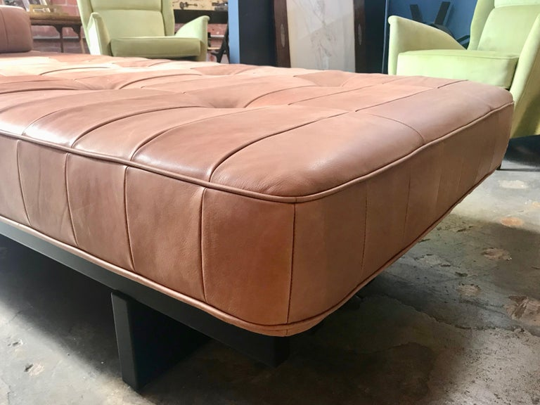 Vintage De Sede DS 80 Patchwork Leather Daybed, Switzerland, 1960s For Sale 5