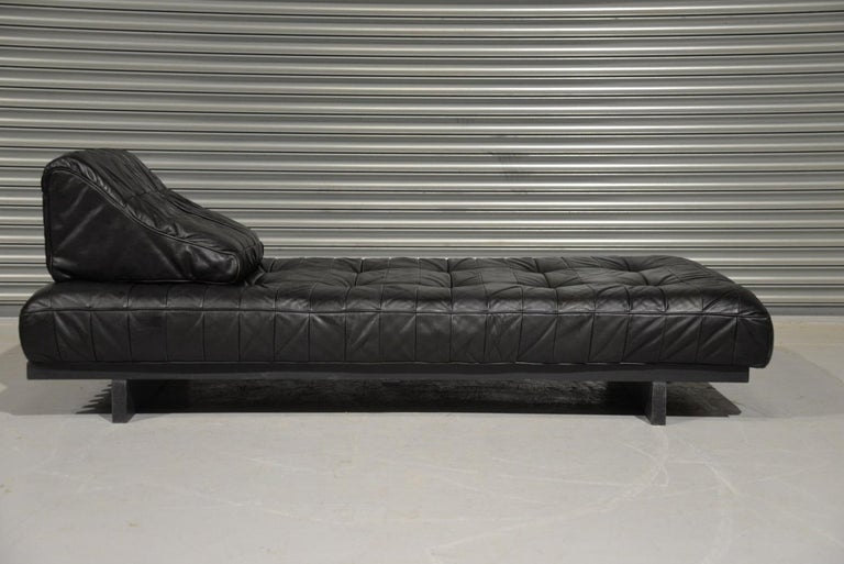 Vintage De Sede DS 80 Patchwork Leather Daybed, Switzerland, 1960s For Sale 6