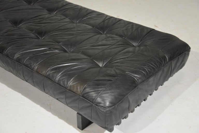 Vintage De Sede DS 80 Patchwork Leather Daybed, Switzerland, 1960s For Sale 10