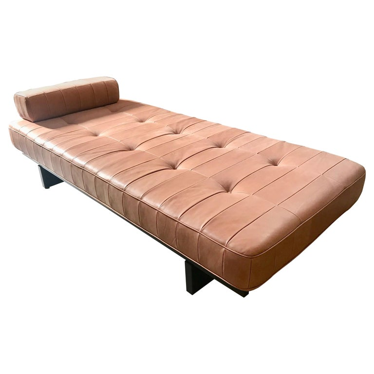 Vintage De Sede DS 80 Patchwork Leather Daybed, Switzerland, 1960s For Sale