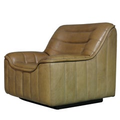 Vintage De Sede DS 84 Neck Leather Armchair, Switzerland, 1970s