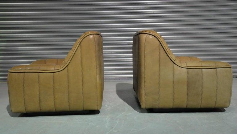 Vintage De Sede DS 84 Neck Leather Armchairs, Switzerland, 1970s For Sale 4
