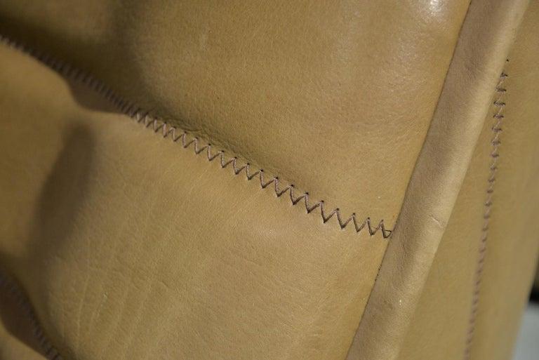 Vintage De Sede DS 84 Neck Leather Armchairs, Switzerland, 1970s For Sale 13