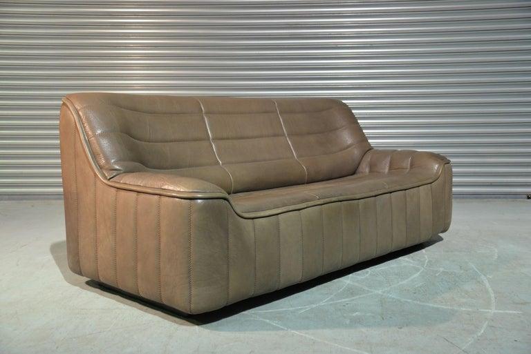 Vintage De Sede DS 84 Leather Sofa, Switzerland, 1970s For Sale 4