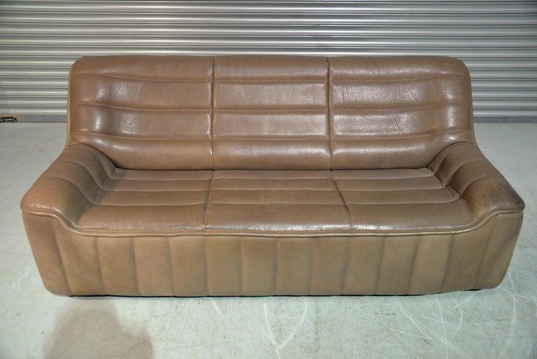 Vintage De Sede DS 84 Leather Sofa, Switzerland, 1970s For Sale 5