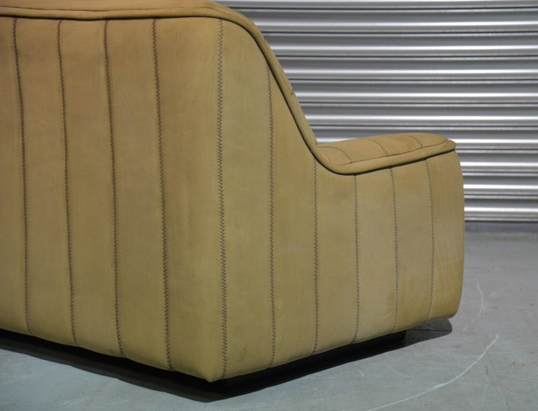 Vintage De Sede DS 84 Leather Sofa, Switzerland 1970s For Sale 5