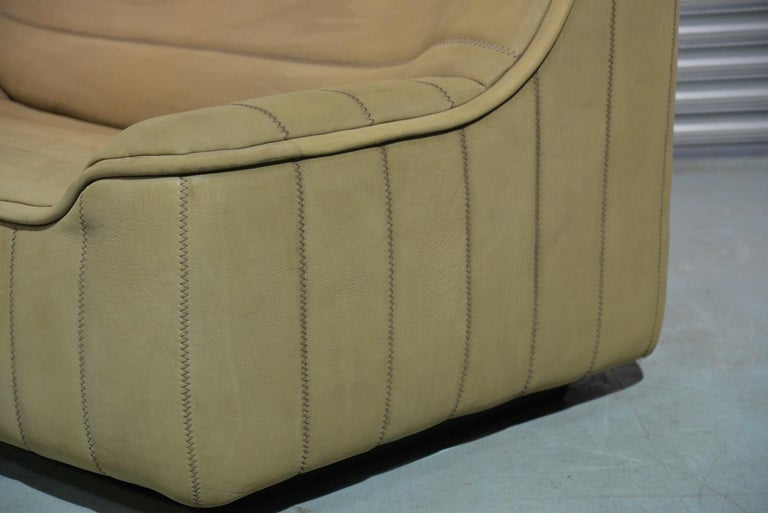 Vintage De Sede DS 84 Leather Sofa, Switzerland 1970s For Sale 6