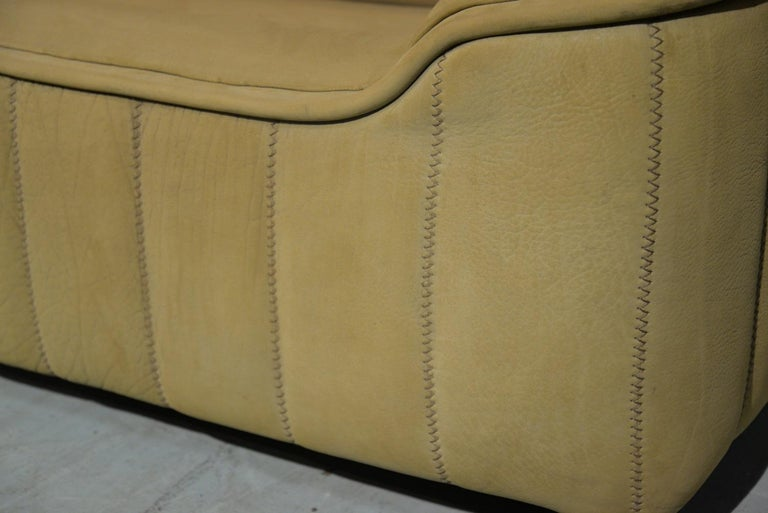 Vintage De Sede DS 84 Leather Sofa, Switzerland 1970s For Sale 7