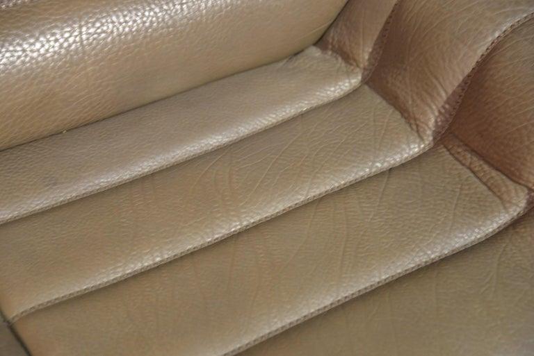 Vintage De Sede DS 84 Leather Sofa, Switzerland, 1970s For Sale 11