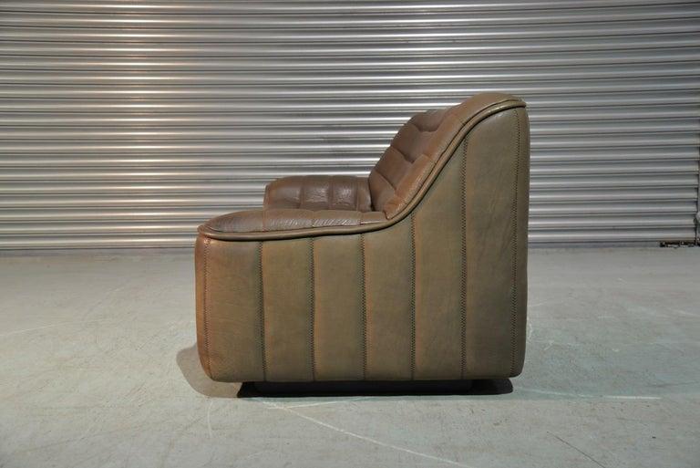 Swiss Vintage De Sede DS 84 Leather Sofa, Switzerland, 1970s For Sale