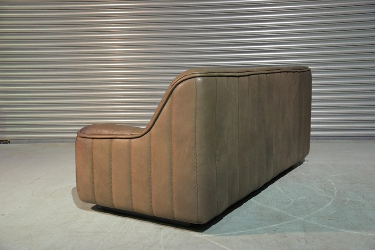 Vintage De Sede DS 84 Leather Sofa, Switzerland, 1970s In Good Condition For Sale In Fen Drayton, Cambridgeshire