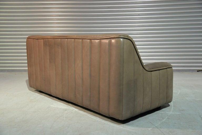 Vintage De Sede DS 84 Leather Sofa, Switzerland, 1970s For Sale 1