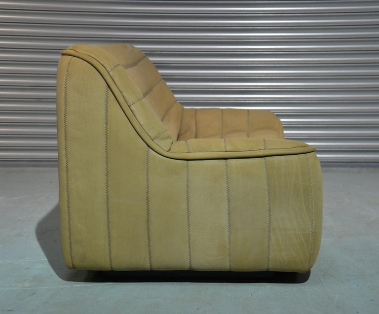 Vintage De Sede DS 84 Leather Sofa, Switzerland 1970s For Sale 2