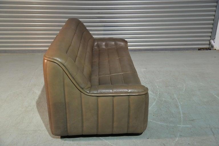 Vintage De Sede DS 84 Leather Sofa, Switzerland, 1970s For Sale 3