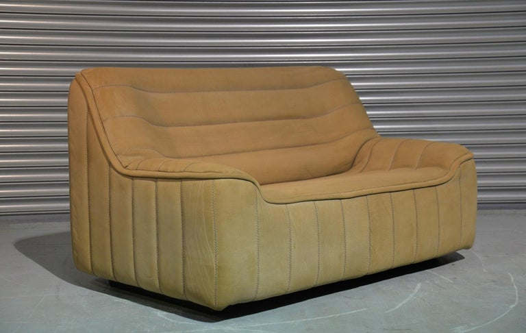 Vintage De Sede DS 84 Leather Sofa, Switzerland 1970s For Sale 3