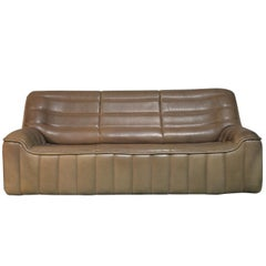 Vintage De Sede DS 84 Leather Sofa, Switzerland, 1970s
