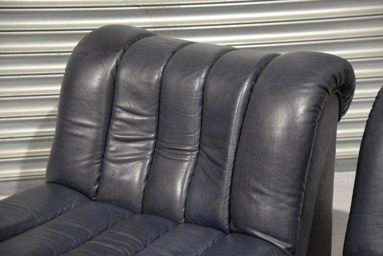 Vintage De Sede DS 85 Lounge Chairs, 1960s For Sale 6
