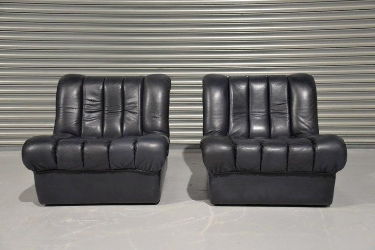 Mid-Century Modern Vintage De Sede DS 85 Lounge Chairs, 1960s For Sale