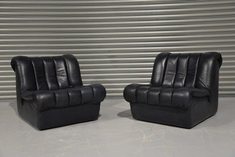 Swiss Vintage De Sede DS 85 Lounge Chairs, 1960s For Sale