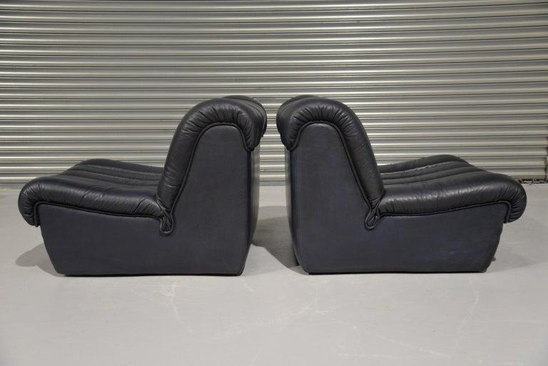 Mid-20th Century Vintage De Sede DS 85 Lounge Chairs, 1960s For Sale