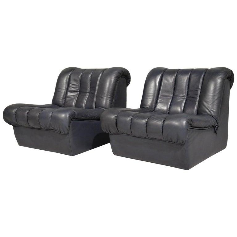 Vintage De Sede DS 85 Lounge Chairs, 1960s For Sale 8
