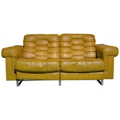 Vintage De Sede DS-P Reclining Sofa by Robert Haussmann, Switzerland 1970s