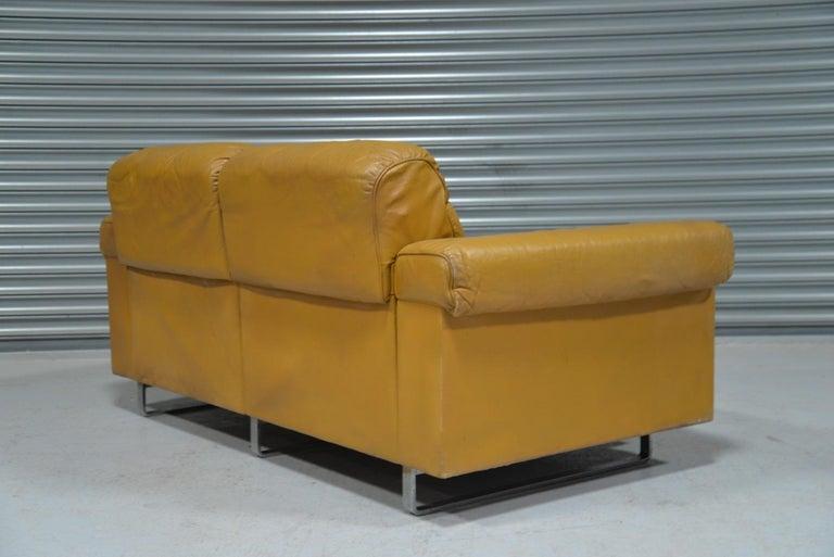 Vintage De Sede DS-P Reclining Sofa by Robert Haussmann, Switzerland, 1970s For Sale 3