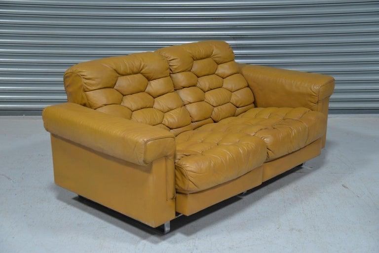 Vintage De Sede DS-P Reclining Sofa by Robert Haussmann, Switzerland, 1970s For Sale 5