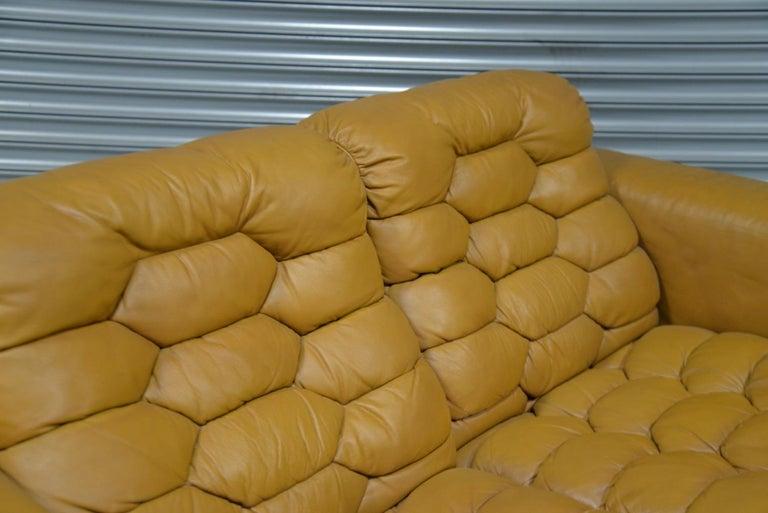 Vintage De Sede DS-P Reclining Sofa by Robert Haussmann, Switzerland, 1970s For Sale 7
