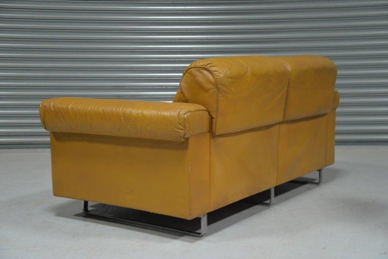 Vintage De Sede DS-P Reclining Sofa by Robert Haussmann, Switzerland, 1970s For Sale 1