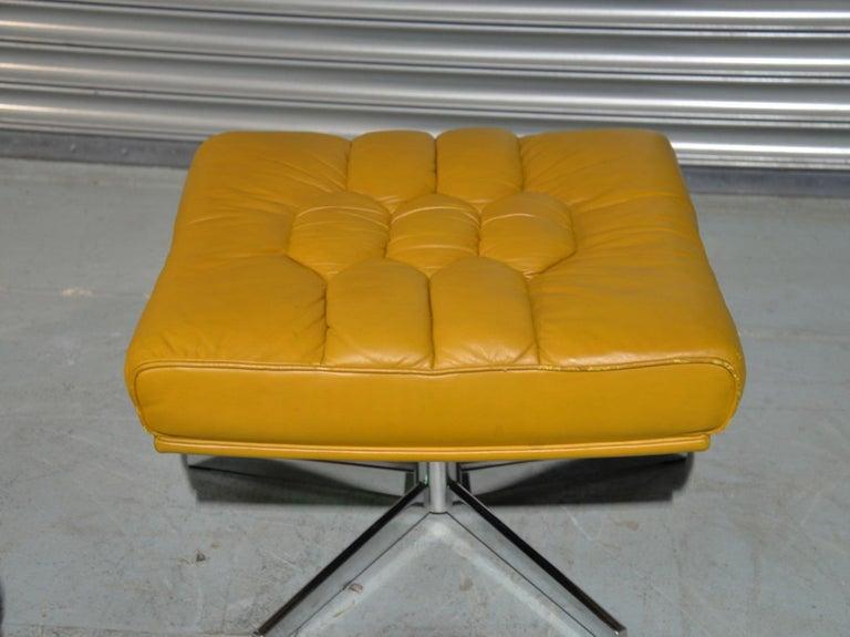 Vintage De Sede DS-P Sofa Set in Cognac Leather by Robert Haussmann, 1970s For Sale 13