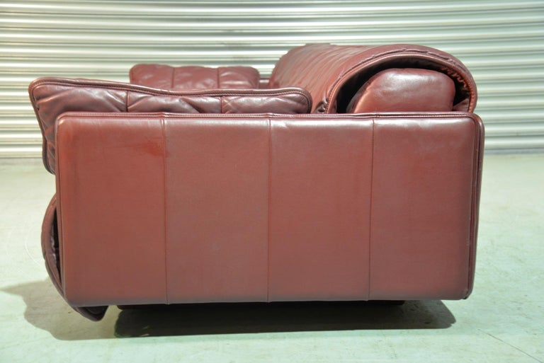 Vintage De Sede Patchwork Leather Sofa / Daybed, Switzerland, 1970s For Sale 4