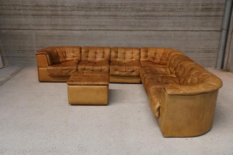 Strange Vintage De Sede Sectional Patchwork Sofa 1970S Model Ds 11 Creativecarmelina Interior Chair Design Creativecarmelinacom
