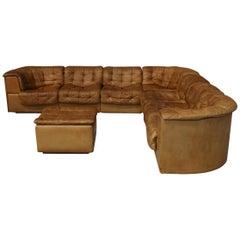 Vintage De Sede Sectional Patchwork Sofa, 1970s Model DS 11