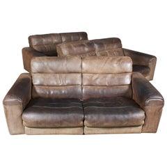 Vintage De Sede Two-Seat Sofa