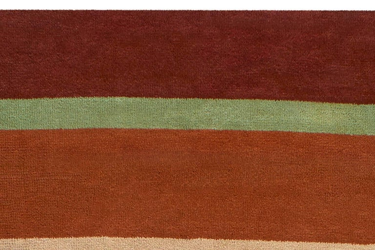 Vintage Deco Rug In Good Condition For Sale In New York, NY