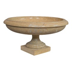 Vintage Decorative Bowl, English, Marble, Ornamental, Fruitbowl, Serving Dish
