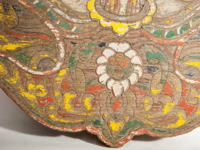 Vintage Decorative Cart Panel, Naga Motif, Mid-20th Century, North Thailand For Sale 2