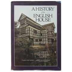 Vintage Decorative Hardcover Book A History of the English House