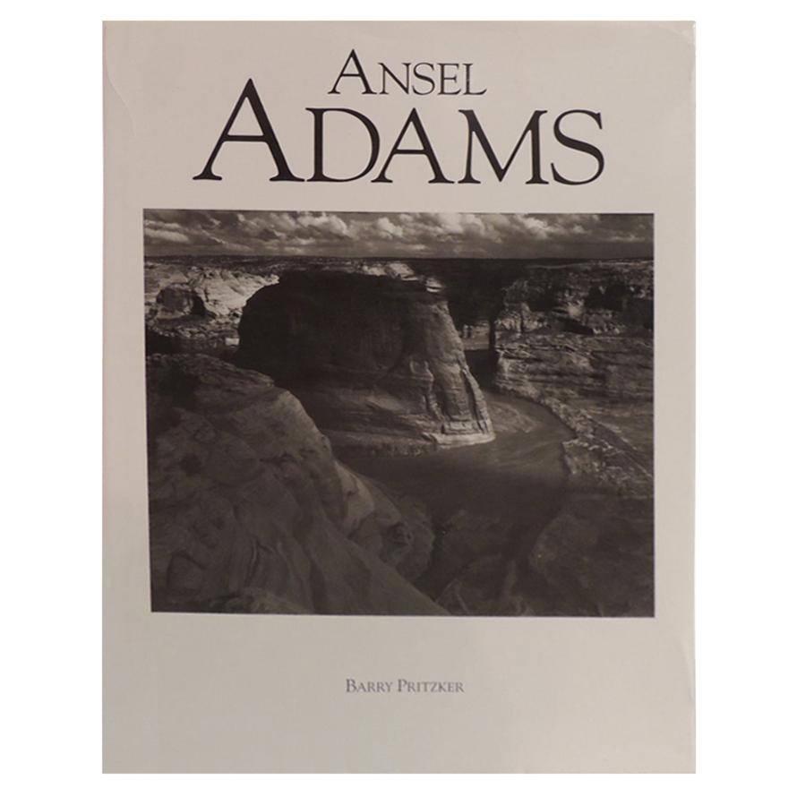 Vintage Decorative Hardcover Book Ansel Adams by Barry Pritzker
