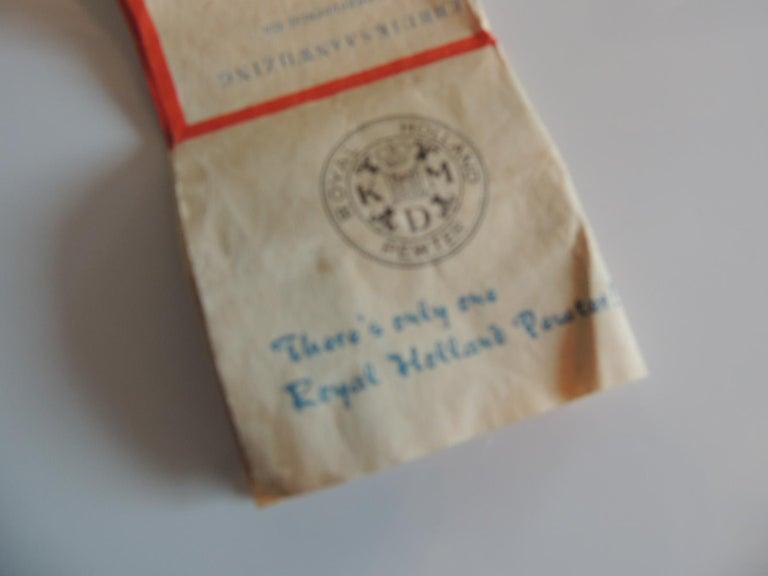 Vintage Decorative Pewter Tea Set by Royal Holland For Sale 2