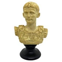 Vintage Decorative Roman or Greek Bust Statue, 1960s