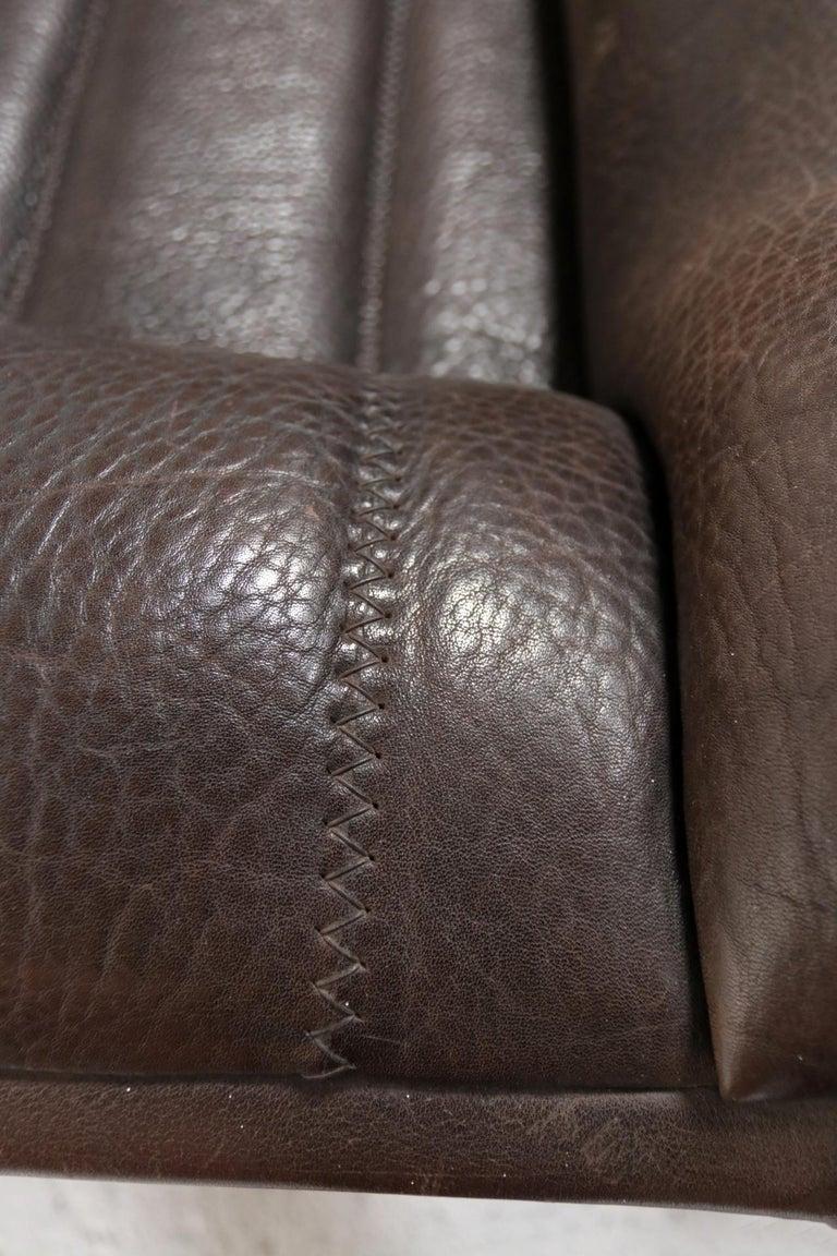 Vintage Design De Sede DS 84 Leather Sofa, Switzerland, 1970s For Sale 5